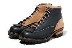 NEIGHBORHOOD x Wesco JOBMASTER 2FACE CL Boots
