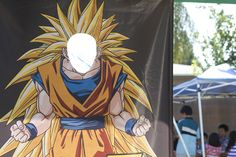 dragon ball z photo booth banner