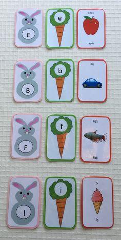 Tall- og mengdetrening – Språkhjerte Popsicle Stick Crafts, Kids Crafts, Plastic Cutting Board, Alphabet, Education, Reading, Alpha Bet, Word Reading, Teaching