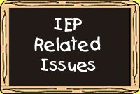 IEP Related Issues *Good resource for thought prompts, model goals with and without objectives. (Wisconsin)