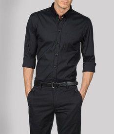 Armani black on black