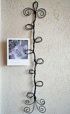 Wire Photo Clip Wall Decor