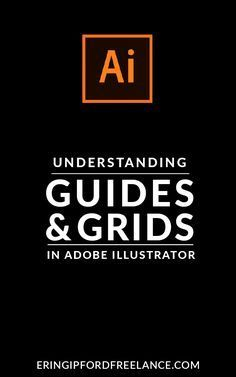 Getting into the habit of using guides and grids when you design inside Adobe Illustrator is a great habit to get into. Once you get in the habit of using them it will not only add professionalism to your designs but it will increase your efficiency as we Web Design, Graphic Design Tools, Design Poster, Freelance Graphic Design, Graphic Design Tutorials, Graphic Design Typography, Tool Design, Graphic Design Inspiration, Design Process