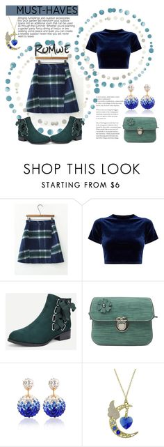 """""""Plaid Wool Blend Skirt"""" by vanity-simons ❤ liked on Polyvore"""