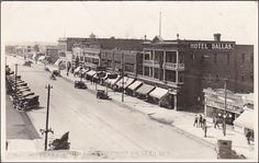 RP: Fifth Street South , LETHBRIDGE , Alberta , Canada , 1920s