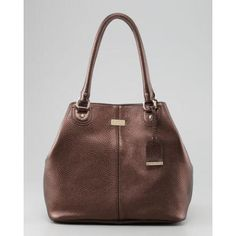 Village Convertible Leather Tote Bag, Brown - Cole Haan