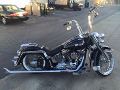 We have another deal of the day!! 2007 FLSTN Softail Deluxe vin#626911 Call today!! 209.522.1061 To many extras to list! #SoftTail #deal