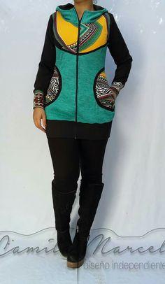 Poleron Boho Outfits, Fashion Outfits, Sport, Winter, Shopping, Ideas, Sweater Fashion, Jackets, Sporty