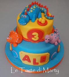 dinosaur cakes   Dinosaur Cake - Paperblog