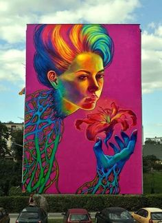 Best Graffiti & Amazing Street Art - Natalia Rak in Turek (2013)