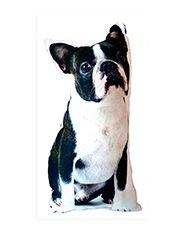 Boston terrier negro - Cojín. $56.000 COP. Compra aquí --> https://www.dekosas.com/productos/cojin-boston-negro-detalle