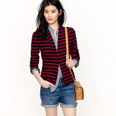 Stripes, Chambray, & Denim - my favs. (J.Crew, of course!)