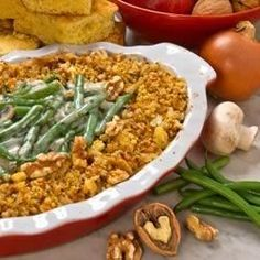 A  Green Bean and Walnut Casserole - Allrecipes.com