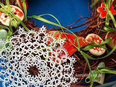 Koroneczka - frywolitki i ceramika: gwiazdki frywolitkowe