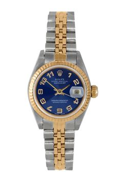 Rolex Women's Datejust Two-Tone Watch MY WATCH FOR BABY #4!!!