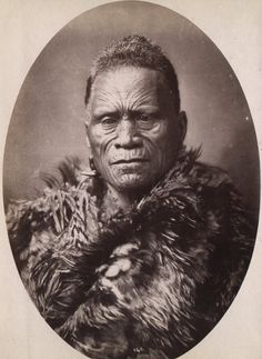 Tawhiao, second Maori King, between 1868 and 1898