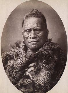 Tawhiao, second Maori King, between 1868 and 1898