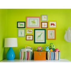 Gallery for lime green bedroom walls - Lime green walls in bedroom ...