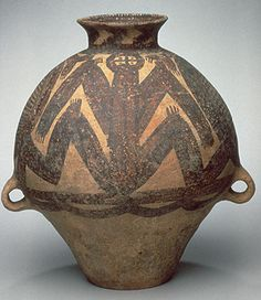 Jar, Majiayao culture, Machang phase, ca. 2300–2050 B.C.  Gansu or Qinghai Province, China  Earthenware with painted decoration
