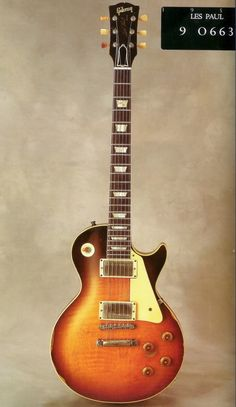 1959 Les Paul owned by Joe Perry, Slash and Eric Johnson.