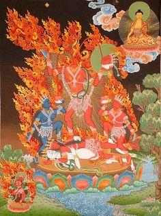 Vajrayogini Chinnamastaa both Hindu and here, Buddhist