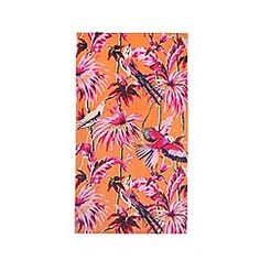 Butterfly Home by Matthew Williamson - Orange hummingbird floral print beach…