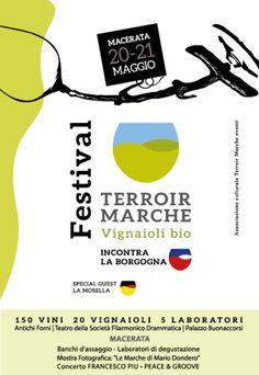 Terroir Marche Festival a Macerata 150 vini e 21 vignaioli bio