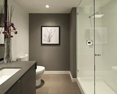 6 Bathroom Ideas for Small Bathrooms | Small Bathroom Designs Recessed lighting make bathroom seem bigger