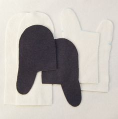 good mitten sewing pattern and tutorial from Molly's Sketchbook