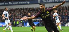 Premier League Team of the Week feat. Sergio Aguero, Gary Cahill and Eldin Jakupovic Gary Cahill, Premier League Teams, West Brom, Manchester City, Destruction, Competition, Soccer, Sports, Key