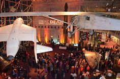Corporate Holiday Party @ Air and Space Museum in D.C.
