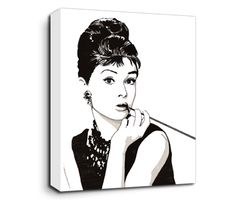 Style icon, gamine movie idol and sweet-faced Oscar, Tony, Grammy and Emmy award-winning actress and singer, Audrey Hepburn did it all and had it all. Still one of the most famous and inspirational Hollywood stars of all time.