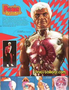 PULSAR The Ultimate Man of Adventure Action Figure by Mattel 1976. He kind of looks like Ricardo Montalban.