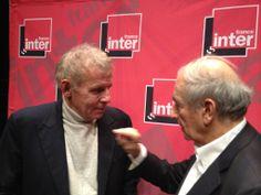 Quand France Inter fait se rencontrer Patrick Poivre d'Arvor et Jean-Pierre Elkabbach à Lille pour se souvenir ... de leurs débuts à France Inter - Photo © Anne Audigier / @Anne_A09