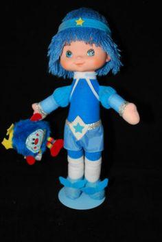 Vintage Rainbow Brite Doll Buddy Blue w Champ RARE Hard to Find | eBay
