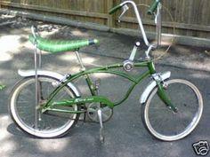 Banana Seat bike. My grandpa made me one but in red :)