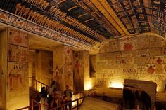 Tomb of Ramses VI ..Valley of the Kings, Egypt