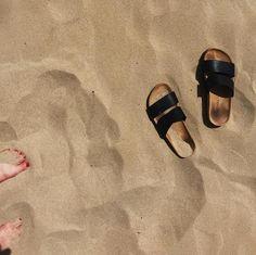 Flat sandals - black magic - Shoes - Monki SE