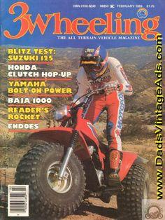 1983 3-Wheeling – Honda ATC 185S / 200 Clutch Hop-Up