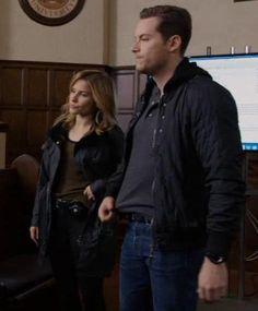 Erin Lindsay & Jay Halstead looking tough together