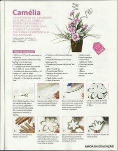 ESPAÇO EDUCAR: Como fazer flores em EVA e arranjos lindos de flores em EVA passo a passo e com moldes?