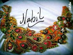 Embroidery Motifs, Embroidery Fabric, Beaded Embroidery, Lesage, Caftans, Belly Dance, Dance Wear, Creative Art, Diy And Crafts
