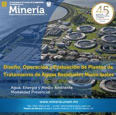 Diseño, operación y evaluación de plantas de tratamiento de aguas residuales municipales.