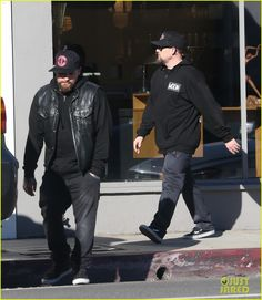 Benji Madden and Joel Madden were seen shopping in LA together (Dec 21, 2016)