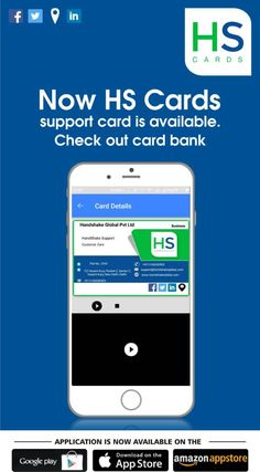 Now HS Cards support card is available. Check out your card bank. Always stay connected and supported. www.handshakeglobal.com Digital Business Card, Business Cards, Bank Card, Google Play, Your Cards, App, Phone, Check, Lipsense Business Cards