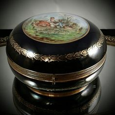 6 Inch Made In Germany Art Nouveau Ormolu by OldGLoriEstateSale
