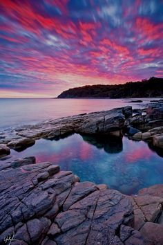 Sunrise in Noosa National Park, Queensland, Australia. #landscape #nature #royalcaribbean  Australia Informações em nosso Site http://storelatina.com/australia/travelling  #Australië