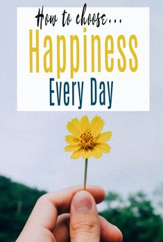 Happiness is a choice - here is how to choose to be happy each and every day. Simple life enhanching tips to increase your wellbeing and bring more joy to your life #happiness #wellbeing #happy #selfcare #abeautifulspace Happier Lyrics, Small Acts Of Kindness, Happiness Is A Choice, Life Coaching, Feeling Overwhelmed, Happy People, Health And Wellbeing, Physical Fitness, Self Help