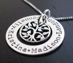I do love this!  I think I would get it with a ball chain and the names of my 3 kids and of course... Carter.