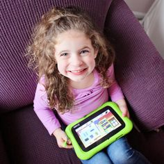 Do you let your kids play with tablets? The LeapFrog Epic Academy Edition Tablet is one you should check out. Learning, fun and parental controls.